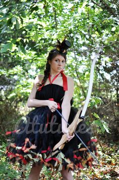 Katniss Everdeen Girl On Fire Costume inspired by The by atutudes