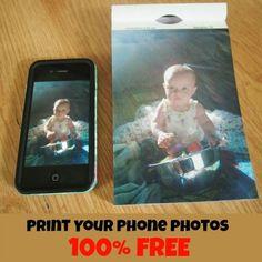 I still have a dumbphone, but this looks awesome!  100 prints for $2.99 from your smartphone, including shipping.  Crazy!  @Groovebook