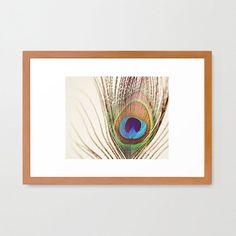Iridescent Feather Print  