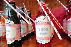 Ready to Pop Baby shower - Soda POP