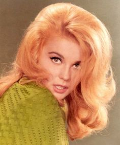 The one and only Ann-Margaret. LOVE that hair.