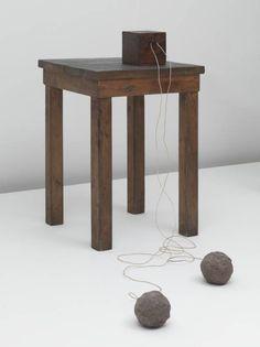 Joseph Beuys, 'Table with Accumulator' 1958-85