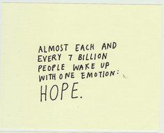 *Hope*