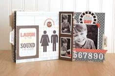 Simple 6x6 mini Album