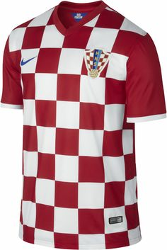 Croatia Home Kit for World Cup 2014 #worldcup #brazil2014 #croatia #soccer #football #CRO