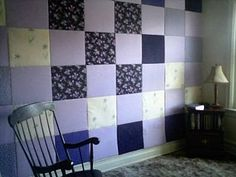 duct tape, quilt wall, wall decor, craft, colors, wall quilts, wall treatments, diy home, construction