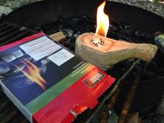 Paracordist Creations LLC: camping, Kuksa fire, bacon grease lamp disaster, birch carving supplies