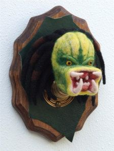 This one is not so much for me...  Maybe like the creature from the Black Lagoon or something.  Faux Taxidermy  monster :)