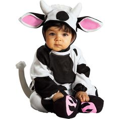 Cow Baby Halloween Costume at #Walmart
