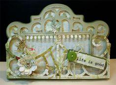 Ornamental Iron 2 Cricut card