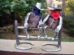 Horseshoe Sculpture by DavidHamiltonDesigns on Etsy