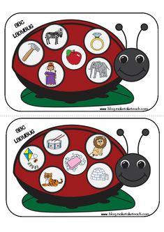 ladybug alphabet game