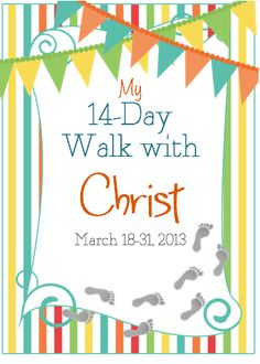 idea, walks, journals, walk with christ, young girl crafts, jedi craft, 14day, easter activ, craft girl