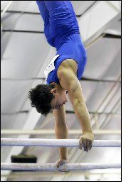 Gymnastics training section