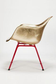 Gold Eames Chair