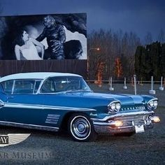 1958 Pontiac Bonneville Custom at LeMay - America's Car Museum Tacoma, WA #Kids #Events
