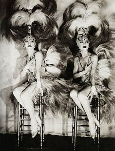 The Dolly Sisters, by James Abbe, ca. 1927
