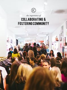 """""""The communities that could move mountains, the communities that have shaped the course of history are no longer out of our grasp. They are at our fingertips. We can build them ourselves. Best of all, the stronger your community grows, the more power you have to change the world."""" - Lindsey Saletta #theeverygirl #community #collaboration"""