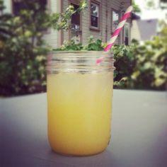 1 Cup Country Time Lemonade Mix + pineapple juice (42 oz) + sprite (24 oz) + 2 cups water = best lemonade ever