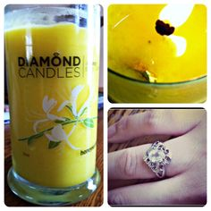 Diamond Candle Review - Living a Sunshine Life