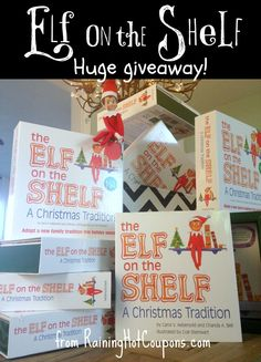*HOT* 5 Elf On the Shelf Elves and Books Giveaway + MUCH MORE! (5 Winners) - Raining Hot Coupons