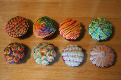 Striped Icing How To