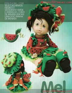 МК как слепить волосы/парик для куклы -How to Make a Doll Wig / Doll Hair - Page 9 - Мастер-классы по украшению тортов Cake Decorating Tutorials (How To's) Tortas Paso a Paso