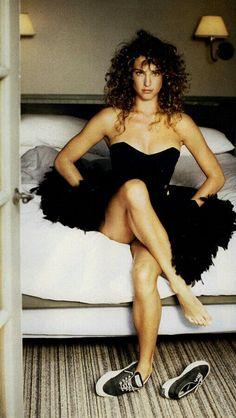 Vogue US, November 1987 Photographer : Patrick Demarchelier Model : Jill Goodacre