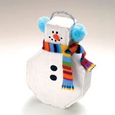 Jan:  For sure.  Paint the stepping stones prior to the club meeting.  Girls decorate their snowmen.  Frosty the Doorstop