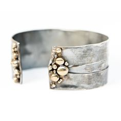 Continental Divide Adjustable Bracelet- Cuff by Union Studio Metals