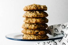 blueberry, coconut, dark chocolate oat cookie
