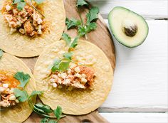 Crock Pot Chicken Tacos | Rue