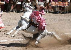 Escaramuza .... Mexico .... Charro