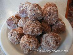 Ketogenic Hazelnut Cheesecake Bites Shared on https://www.facebook.com/LowCarbZen   #LowCarb #Keto #Snack #Dessert