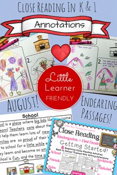 Little Bird Kindergarten Blog Post: Close Reading turned social story :o)