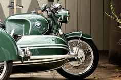 1968 BMW R60/2 with a Steib S350 Sport Chair Motorcycle