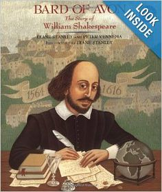 Bard of Avon: The Story of William Shakespeare: Diane Stanley, Peter Vennema: 9780688162948: Amazon.com: Books