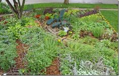 The Casual Gardener: How To Build A Sustainable Ornamental Edible Vegetable Garden Design In Your Front Lawn