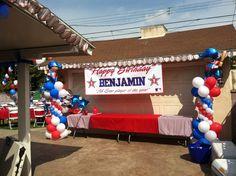 Baseball Party #baseball #party
