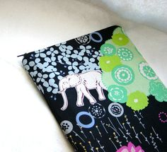 MacBook Air 11 inch Sleeve Padded Case  Elephant by sherrybags, $25.00