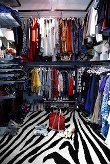 Olivia Palermo's Apartment - The dream walk in closet