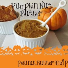 Pumpkin Nut Butter - A creamy, thick nut butter that tastes like pumpkin pie. Perfect for topping on toast, muffins, oatmeal and yogurt!