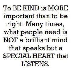 Kindness breeds kindness