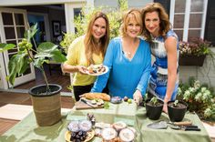 """Figs 101"" Join Foodie Gardener, Shirley Bovshow and learn how to grow delectable figs in a container.  With Cristina Ferrare and ""Fig"" of ""Orange is the New Black,"" Alysia Reiner"