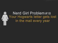 Nerd girl problem #18