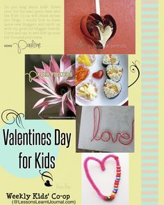 Valentines Day Activities for Kids. Fun, kid-friendly and gorgeous.