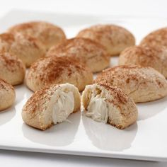 Try something new this year - Eggnog Cookies made with Wilton's Limited Edition Eggnog Candy Melts® Candy.