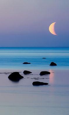 Magical Moonlight ~ Sea Scape