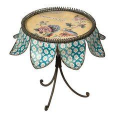 Vintage Primavera Small Display Table, $37 !!