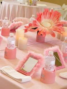 Pink Spa Day Party for girls